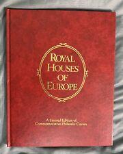 1978 Royal Houses of Europe Commemorative Philatelic Fdc Album