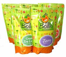 BOLLE Premium Powder Mix for Bubble Tea Boba Smoothies 2.2 Lbs. Assorted Flavors