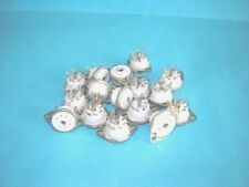 10x of miniature TEFLON  socket NEW ! 7 pin tube holder for 6HS6 6AU6 6AV6