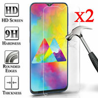 For Samsung Galaxy A10e 9H Clear Premium Tempered Glass Screen Protector Cover