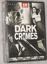 Dark Crimes - 50 Classic Movies Film Noir Thriller Murder DVD Box Set SEALED