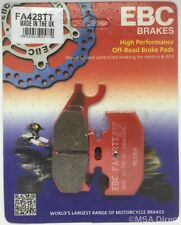 "Yamaha YFM700 Raptor (2006 to 2012) EBC ""TT"" REAR Disc Brake Pads (FA428TT)"