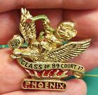 ROYAL ORDER OF JESTERS lapel pin, class of 89, ROJ court 17, Phoenix Arizona