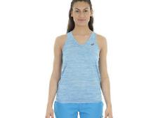 Abbigliamento da donna blu marca ASICS per palestra , fitness , corsa e yoga