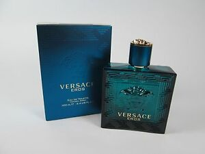 Versace Eros  3.4oz 100ml Men's EDT Original Sealed