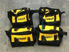 "Brand New X4 Dewalt 9"" Heavy Duty Nylon Tool Bag 9"" x 9"" x 8"" 4 Bags"