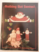 Nothing But Santa - Margaret Williams  folk art  tole painting pattern