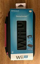 Wii U gamepad protective carrying Case (new, pink) + free bonus game