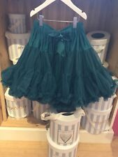 Angels 👼 🏻 face Tutu Jade Green Girl Party Skirt Occasion BNWT age 6/8 M