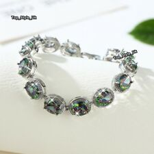Wedding Bridal Tennis Bracelet Gifts for Her Daugther Niece Wife Mum Sister J659