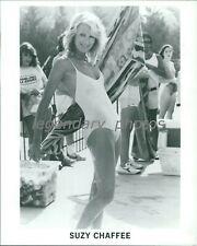 "1960's Suzy ""Chapstick"" Chafee Olympic Alpine Ski Racer Original Press Photo"