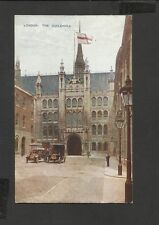 Vintage Colour Postcard  Street View London The Guildhall unposted