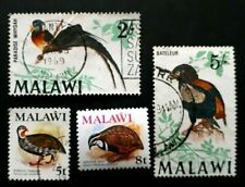 4 x Higher Value Malawi Stamps - Used & Unused