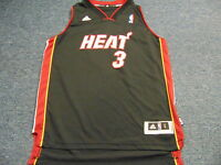 ADIDAS REVOLUTION 30 NBA MIAMI HEAT DWYANE WADE SWINGMAN JERSEY SIZE YOUTH L
