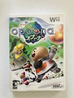 Opoona (Nintendo Wii, 2008) CIB ~ COMPLETE