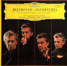 BEETHOVEN - The Complete Overtures (Berliner Philharmoniker/von Karajan) (LP)