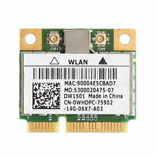 150M Wireless Wifi Mini PCI-E Card For Dell DW1501 0K5Y6D Broadcom BCM94313HMG2L