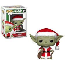 Funko - POP Star Wars: Holiday - Santa Yoda Brand New In Box