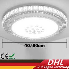 LUXUS Kristall Deckenleuchte LED Deckenlampe Sternhimmel Weiß Wohnzimmerlampe DE