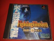 FIGHTING ILLUSION - GRAND PRIX K-1 - SONY PS1 PS2 COMPLET NTSC JAP