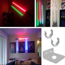 Light Saber Stand Vertical Wall Mount Rack for Star Wars Force FX Lightsabers UK