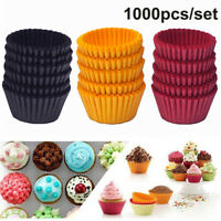 1000Pcs Mini Paper Cake Mould Backform Muffin Cup Case Gebäc k Cupcake Wraps