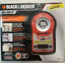 *NEW Black & Decker Bullseye Auto-Leveling Laser with Anglepro BDL170 Level NIP