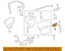 GM OEM Interior-Interior Door Handle Assembly Left 22853824
