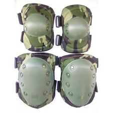 TAS MILITARY KNEE AND ELBOW PAD SET CAMOUFLAGE