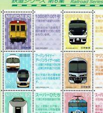"C2380, ""Railroad Series No.6, illust. Ver."", Japan Stamp"