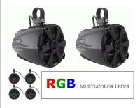 """MPS-65CSRGB / 6.5"""" WAKETOWER / POWERSPORTS SPEAKERS CANS/PODS/ RGB LED'S* PAIR *"""