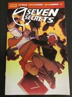 SEVEN SECRETS #1, #2, #3 FIRST PRINT COVER A