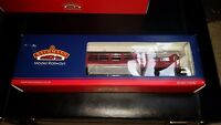OO Gauge Bachmann 39-577 BR Auto Trailer Crimson Coach boxed