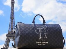 NEW AUTH LOUIS VUITTON FOREVER MONOGRAM VIVIENNE KEEPALL 50 DUFFLE BAG MEN RARE