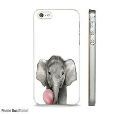 Lindo Bebé Elefante caso impresionante se ajusta IPHONE 4 4S 5 5S 5C 6 6S SE Plus X 7 8
