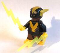 original LEGO THE BATMAN MOVIE - BLACK VULCAN minifigure SERIES 2