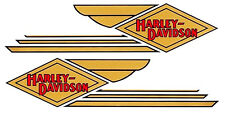 DECALS for Gas Tanks 1934 - 1935 Harley - Davidson VL 45 Solo & Servi-Car