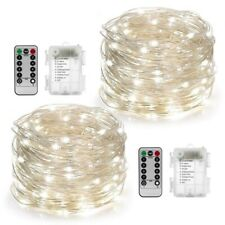100 LED String Fairy Lights Copper Wire Battery Powered - 30FT