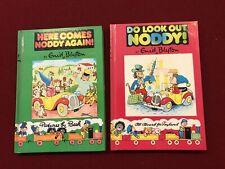 Noddy by Enid Blyton 1983, hardcover # 4 & 15