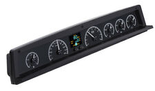 1971-76 Caprice Impala Dakota Digital Black Allloy HDX Custom LED Gauge Kit