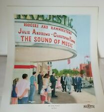 Ike At The Majestic Theater - Gettysburg Pa in the 1960'S Art Print