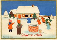 Carte Joyeux Noël Illustré par Jeanne Pennyless