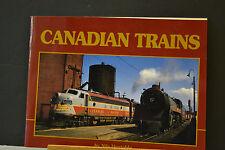 LIVRE TRAIN - CANADIAN TRAINS - BY NILS HUXTABLE - A STEAMSCENES PUBLICATION