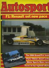 Autosport Jan 12th 1984 *National Rally Review*