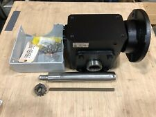 Worldwide Electric Right Angle Worm Gear Reducer 20:1 Ratio 182/4T Frame HdRF325