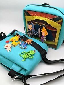 Travel Shoulder Bag Carry Case Iron on Patch Final Fantasy Theatrhythm Accessory