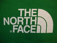 The North Face Name Brand Adventure Hiking Outdoor Apparel Green T Shirt Size L