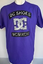 DC Shoes Wild Ones Men's PURPLE'S T-Shirt Size Large