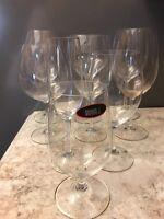 Riedel Wine Glasses Germany Lead Crystal