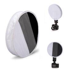 2in1 30cm Weißabgleich 18% Graukarte runden Brett Blitz Diffusor F Yongnuo Canon